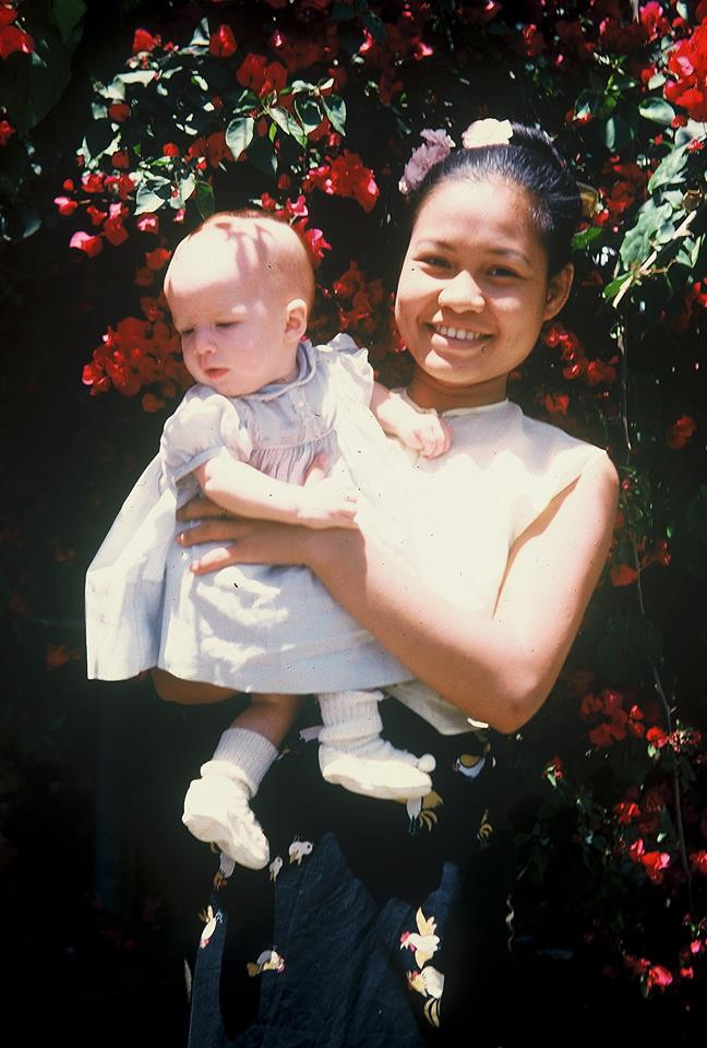 Mary with her Ayah - Grace Shway